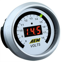 AEM - Voltmeter Gauge Black Face or White Face