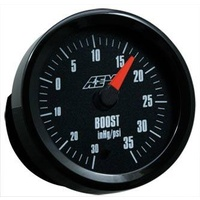 AEM Boost Gauge -30 to 35PSI w/Analog Face