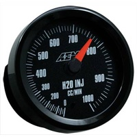 AEM - Water/Methanol Flow Gauge 0-1000CC with Analog Face Black Face or White Face