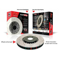 "DBA Subaru Forester MY02-on ""T3"" 5000 Series Front Rotors (PER PAIR)"