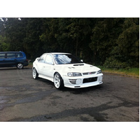 ABW Fender Flares suit Subaru WRX STI GC8 (6 Piece Kit
