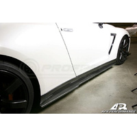 APR Carbon Fiber Side Rocker Extensions/ R35 GTR