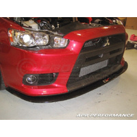 APR Front Wind Splitter suit EVO X with Factroy lip
