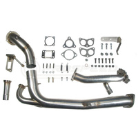 Roger Clark Motorsport RCM TWISTED TURBO UP/DOWNPIPE KIT with Headers + Blouch SE35