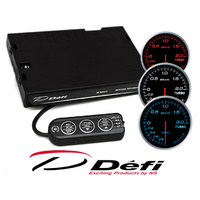 Defi Advance BF White Combo Turbo/Boost gauge with Control Unit 60mm