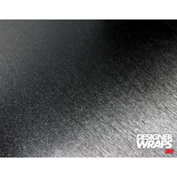 3M Designer Wraps Premium Kit - Brushed Metal Black (1.52m x 0.5m)
