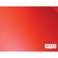 3M Designer Wraps Premium Kit - Matte Red (1.52m x 0.5m)