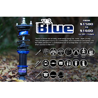 MCA Blue Coilover Kit suit Subaru WRX GH8 MY08-14