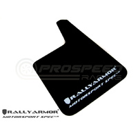 Rally-Armor Universal Mud Flaps Black/White