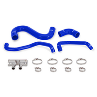 Mishimoto Ford Mustang GT Silicon Radiator Lower Hose BLUE