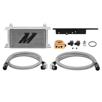 Mishimoto Nissan 350Z, 2003-2009 / Infiniti G35, 2003-2007 (Coupe only) Oil Cooler Kit SILVER Thermostatic