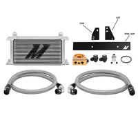 Mishimoto Nissan 370Z, 2009+ / Infiniti G37, 2008+ (Coupe only) Oil Cooler Kit SILVER THERMOSTATIC