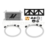 Mishimoto Subaru BRZ direct fit Oil Cooler Silver with Thermostat