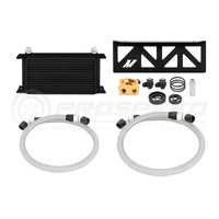 Mishimoto Subaru BRZ direct fit Oil Cooler Black with Thermostat