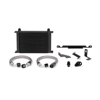 Mishimoto Mitsubishi Lancer Evolution 7/8/9 Oil Cooler Kit, 2001-2007 Black