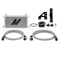 Mishimoto Subaru WRX MY15- Direct fit Oil Cooler kit Silver