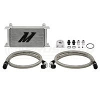 Mishimoto 19 Row Universal Oil Cooler kit Black