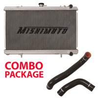 Mishimoto Radiator suit Subaru WRX 08-14/STI 08-17/ FXT 08-13/ Liberty BL5 with Radiator Hoses Combo BLACK