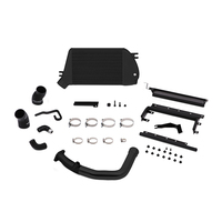 Mishimoto Subaru WRX Top-Mount Intercooler and Charge-Pipe System, 2015+ Black/Black