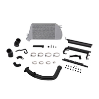 Mishimoto Subaru WRX Top-Mount Intercooler and Charge-Pipe System, 2015+ Black/Silver