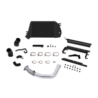 Mishimoto Subaru WRX Top-Mount Intercooler and Charge-Pipe System, 2015+ Silver/Black