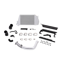 Mishimoto Subaru WRX Top-Mount Intercooler and Charge-Pipe System, 2015+ Silver/Silver