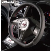 DAMD D-Shaped Steering Wheel Subaru Forester 07-09 (Red)
