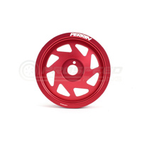 Crank pulley for BRZ-FR-S, 15-16 WRX, or FA/FB engines Red