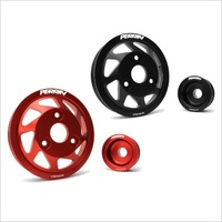 Accessory Pulley Kit, Water Pump & Alternator for BRZ/FR-S, Black