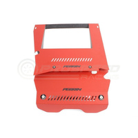 Intercooler Shroud and Belt Cover Kit 15-17 WRX Red