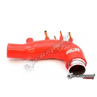 PSR Silicon Turbo Inlet suit Subaru STI MY15 Red