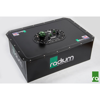 "Radium Fuel ""RACE SAFE"" Cell Set up 22 Gallons with Surge Tank Walbro 460s (Pump Not Incl)"
