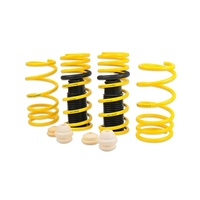 Racecomp Yellow Lowering Springs Suit Subaru BRZ/Toyota 86