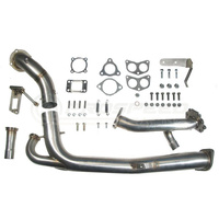 Roger Clark Motorsport RCM TWISTED TURBO UP/DOWNPIPE KIT with Headers + Blouch SE76