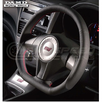 DAMD D-Shaped Steering Wheel Subaru WRX 08-14/STI 08-14/ Liberty 07-09/Forester 08-13