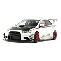 Varis Mitsubishi EVO X Lancer CX4A WIDE BODY KIT FRP with Front Diffuser
