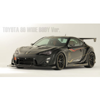 Varis Toyota FT86 WIDE BODY KIT/FULL KIT FRP with Front Diffuser