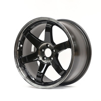 "Rays TE37SL ""Black Edition"" 18 x 9.5, 43+, 5 x 100 (Clears Brembos)"