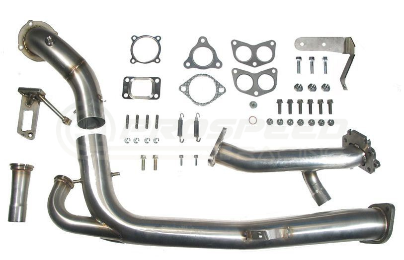 roger clark motorsport rcm twisted turbo up  downpipe kit  no headers