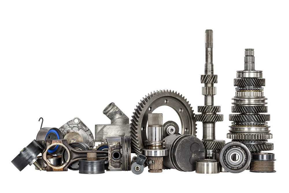 Set of various spare parts of engine and gear box, Image by Prospeed Racing