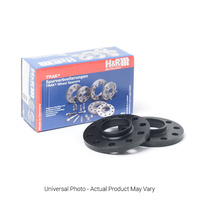 H&R Trak+ DR Wheel Spacers PAIR 5mm Black - BMW 1 Series E82,E88/3 Series E36,E46,E90/5 Series E60/X4/X5M/X6