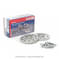 H&R Trak+ DRS Wheel Spacers PAIR 10mm Silver - Ford Focus RS Mk2 LV/Focus Mk3 Inc ST, RS