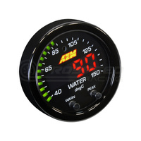 AEM X-Series Digital 150C Water/Trans/Oil Temp Gauge