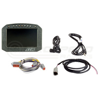 AEM CD-5FL Carbon Flat Panel Digital Racing Dash Display, Logging, No Internal GPS
