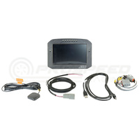 AEM CD-7F Carbon Flat Panel Digital Racing Dash Display, Non-Logging, Internal GPS Enabled
