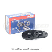 H&R Trak+ DR Wheel Spacers PAIR 15mm Black - Audi/Volkswagen