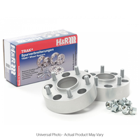 H&R Trak+ DRM Wheel Spacers PAIR 15mm Silver - Hyundai Veloster, i30N/Mazda 3 MPS BL, CX-3, CX-5