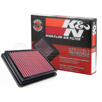 K&N HIGH FLOW AIR FILTER SUBARU (WRX/STI 08-16)