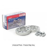 H&R Trak+ DRA Wheel Spacers PAIR 20mm Silver - Audi A3,S3 8P,8V/A4, S4 B5,B6/A6,S6 C6/TT 8J