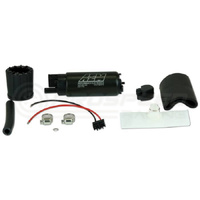 AEM 340lph High Flow In-Tank Fuel Pump (Offset Inlet), 94-07 WRX/STI, Evo 4-9, Silvia/Skyline